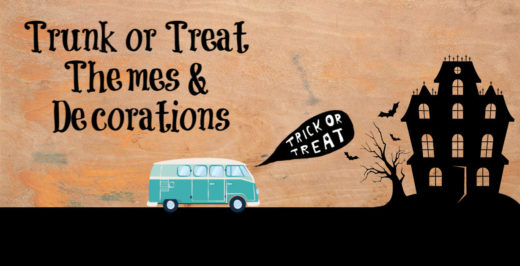 Trunk or Treat Decorations Ideas