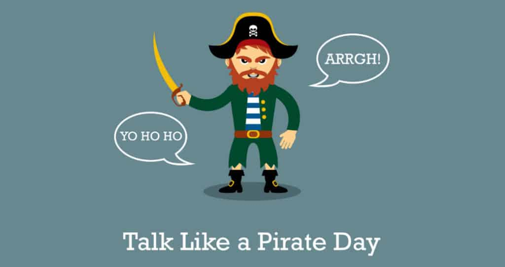 National Talk Like a Pirate Day