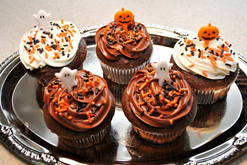 Halloween Snack Ideas Cupcakes