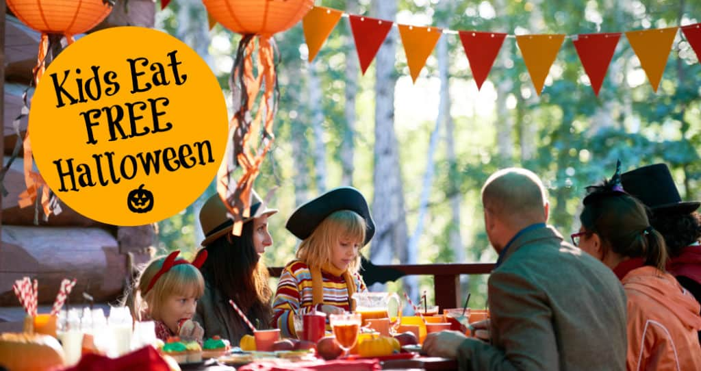 Where Kids Eat Free on Halloween