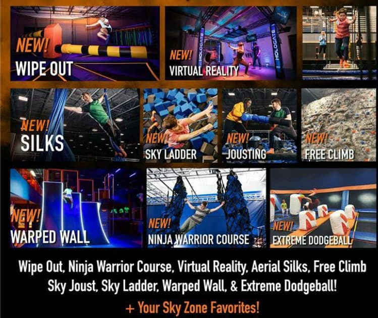 Ninja Warrior Weekend Sky Zone