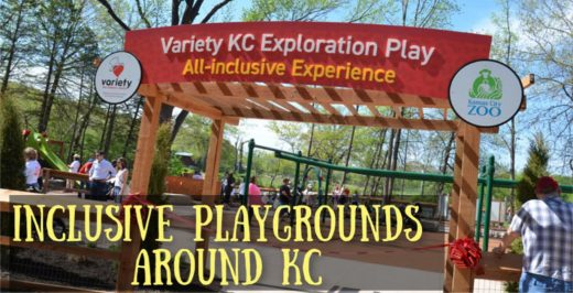 Inclusive Playgrounds in Kansas City for special needs children