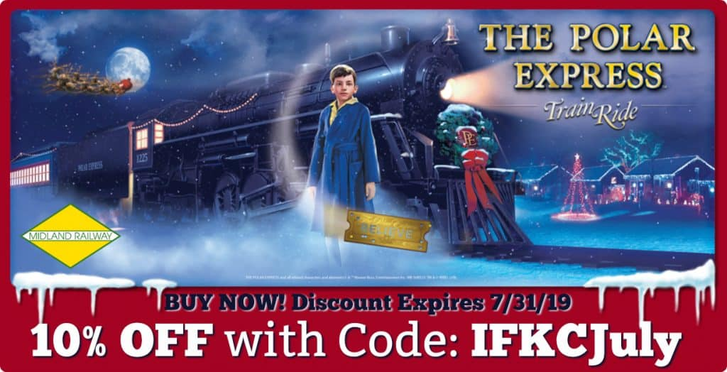 Polar Express Train Coupon Discount Code