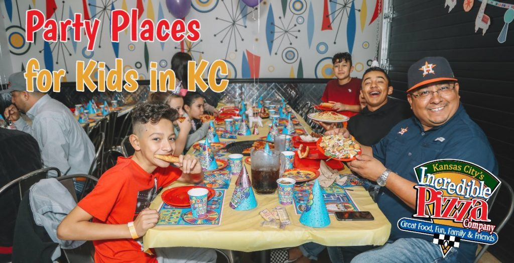Birthday Party Places for Kids in Kansas City Incredible Pizza Feature