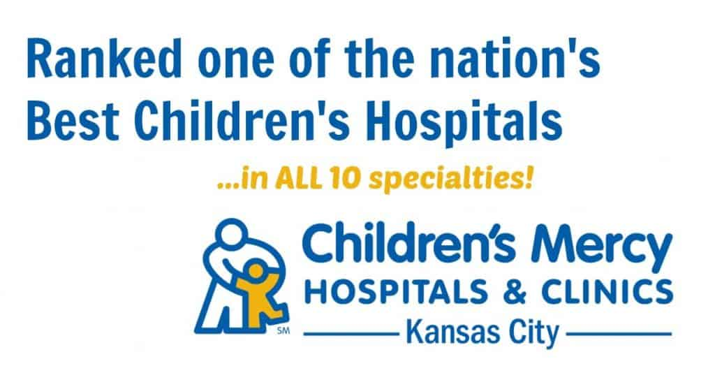 Childrens Mercy Hospitals Ranks for Best Hospital