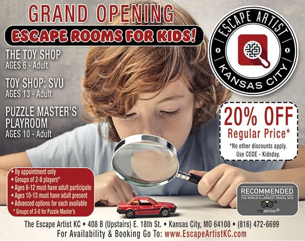 Best Escape Room Coupon in Kansas City