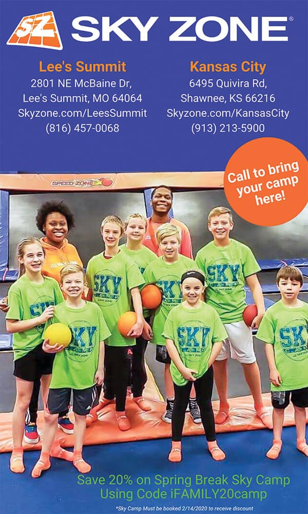spring break camps in kansas city