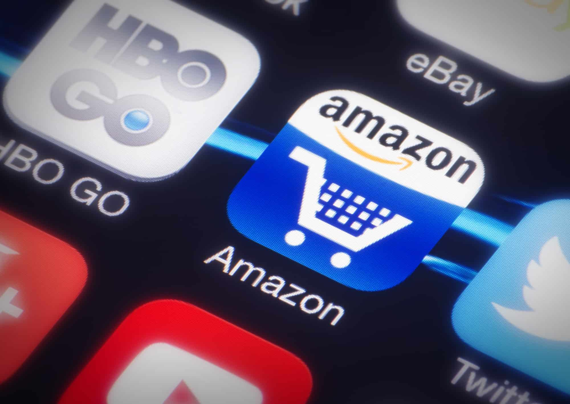Amazon shopping cart icon