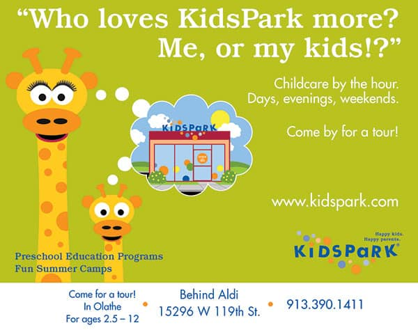KidsPark is open
