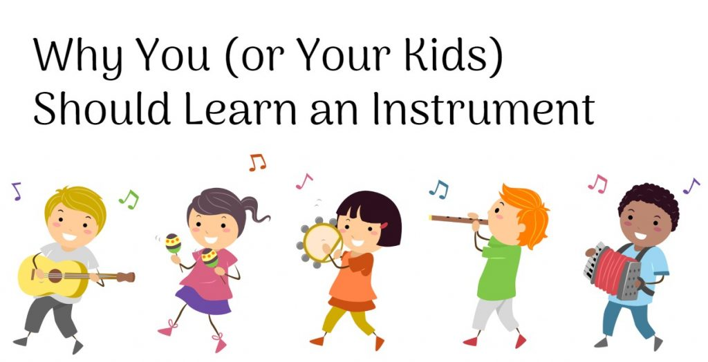 The benefits of learning an instrument
