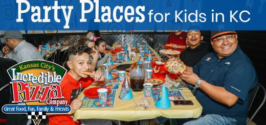 Birthday Party Places for Kids in Kansas City Incredible Pizza