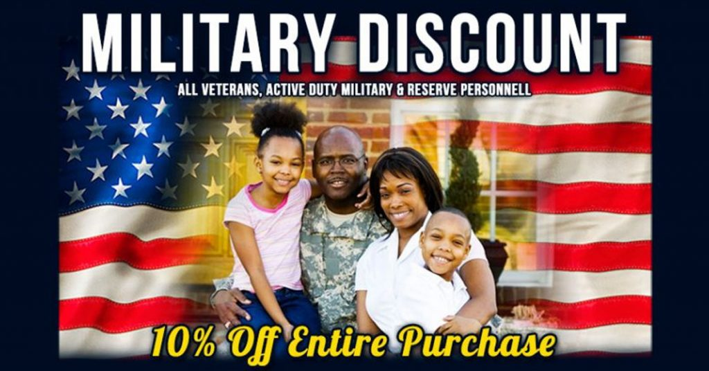miltary discount at incredible pizza company Kansas city