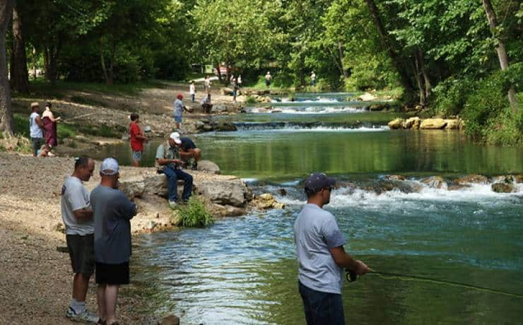Roaring Rivers State Park in Missouri Day Trip
