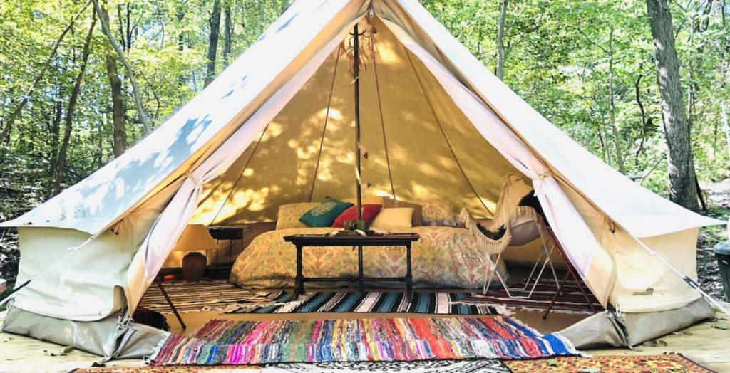 Glamping Tent in Excelsior Springs