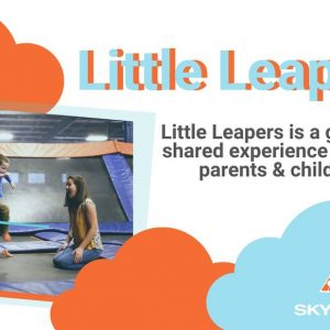 little learper toddler play time at Sky Zone