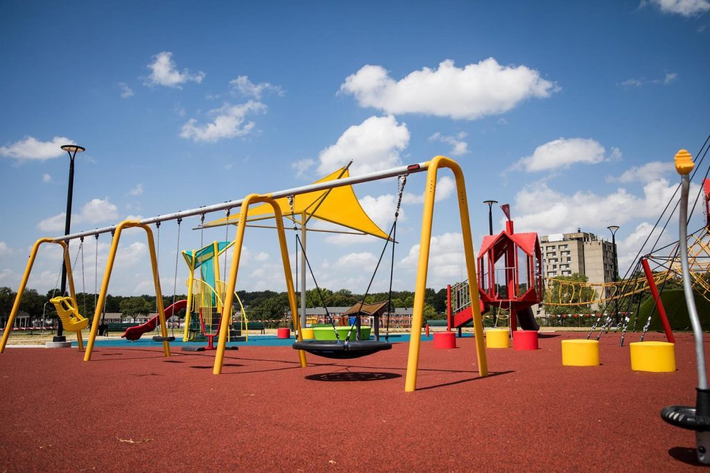 Inclusive Swings for Disabled Children in Kansas City