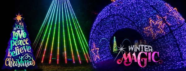Winter Magic KC Christmas Light Park Even 2020 KCMO Swope Park